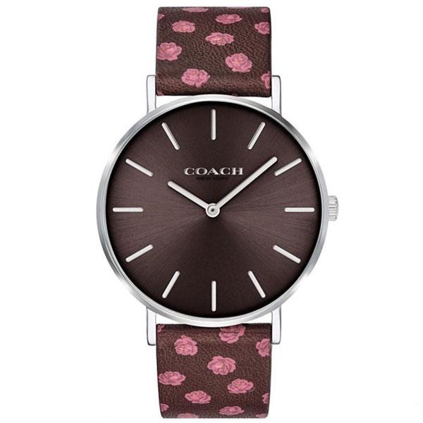 コーチ COACH ペリー Perry レディース 時計 腕時計 ブラウン ブラウン(花柄)レザー14503229 【あす楽】