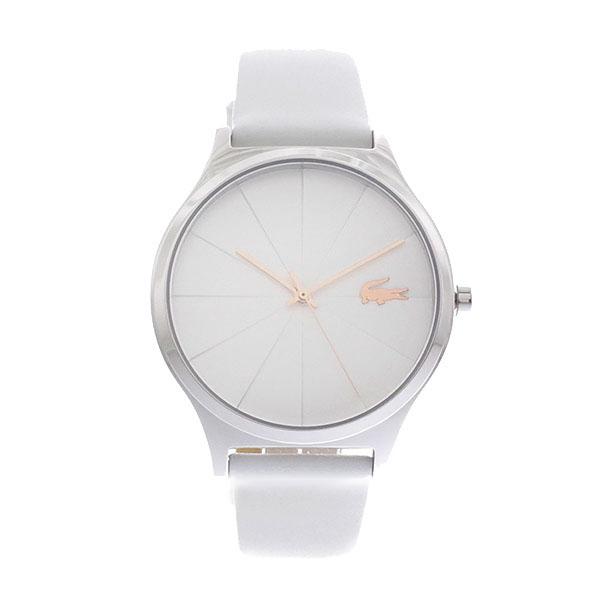 ラコステ LACOSTE クオーツ レディース 腕時計 2001040 CAPBRETON ホワイト ホワイト レザー