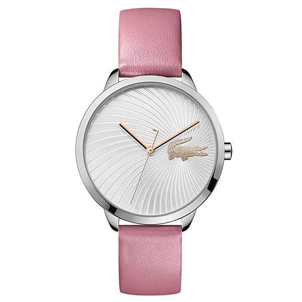 ラコステ LACOSTE クオーツ レディース 腕時計 2001057 LEXI シルバー ピンク レザー