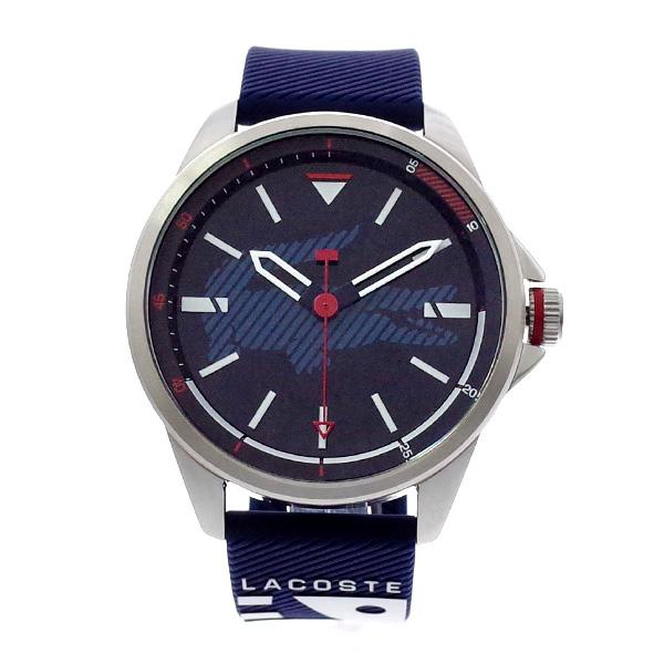 ラコステ LACOSTE クオーツ メンズ 腕時計 2010940 CAPBRETON ネイビー ラバー