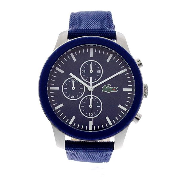 ラコステ LACOSTE クオーツ メンズ 腕時計 2010945 L.12.12 ブルー レザー