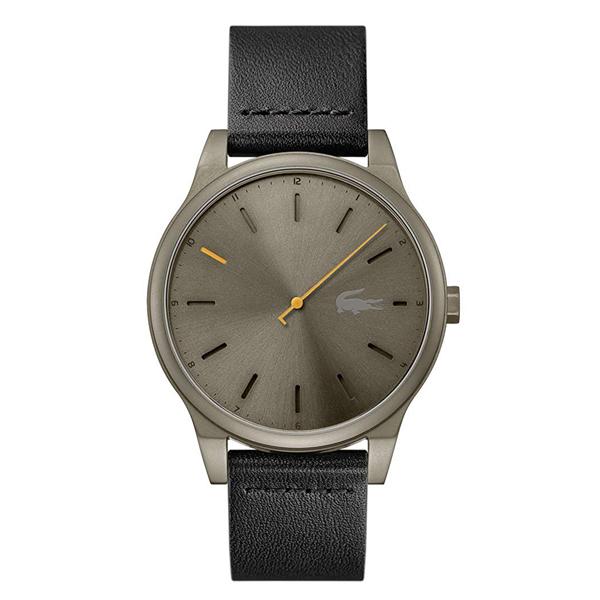 ラコステ LACOSTE クオーツ メンズ 腕時計 2011001 KYOTO ブラウン ブラック レザー