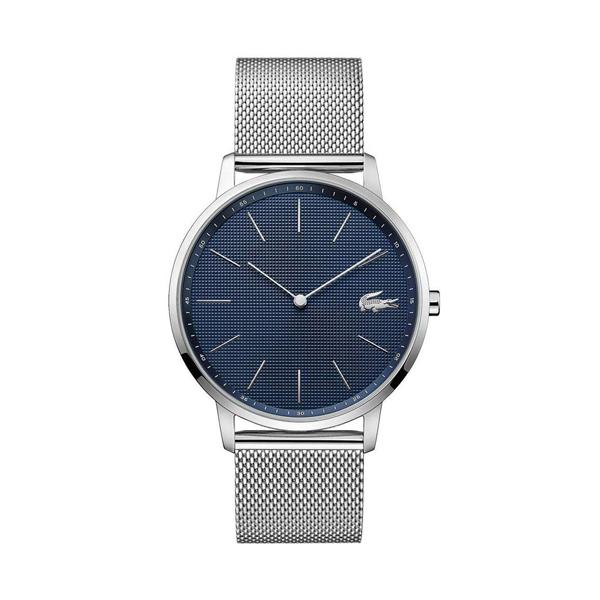 ラコステ LACOSTE クオーツ メンズ 腕時計 2011005 MOON ブルー シルバー