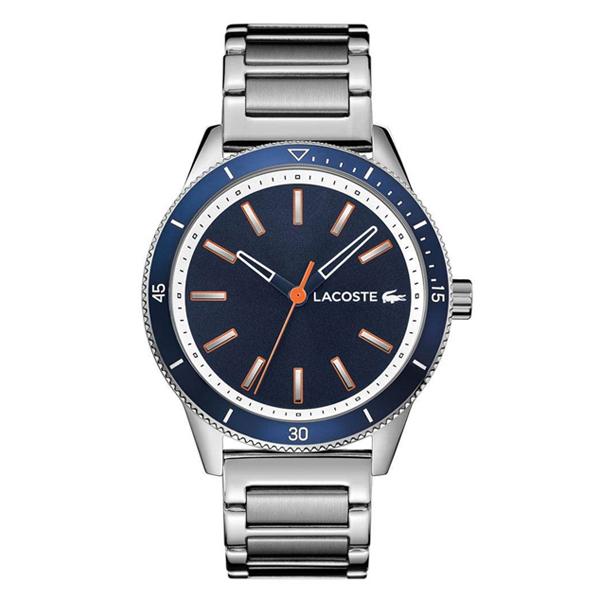 ラコステ LACOSTE クオーツ メンズ 腕時計 2011014 L.12.12 ネイビー シルバー