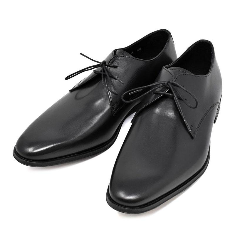 ポールスミス PAUL SMITH レザー ドレスシューズ ビジネスシューズ メンズ CONEY コニー 革靴 ブラック UKサイズ8 (27cm) M1S CON01 APAN BLACK