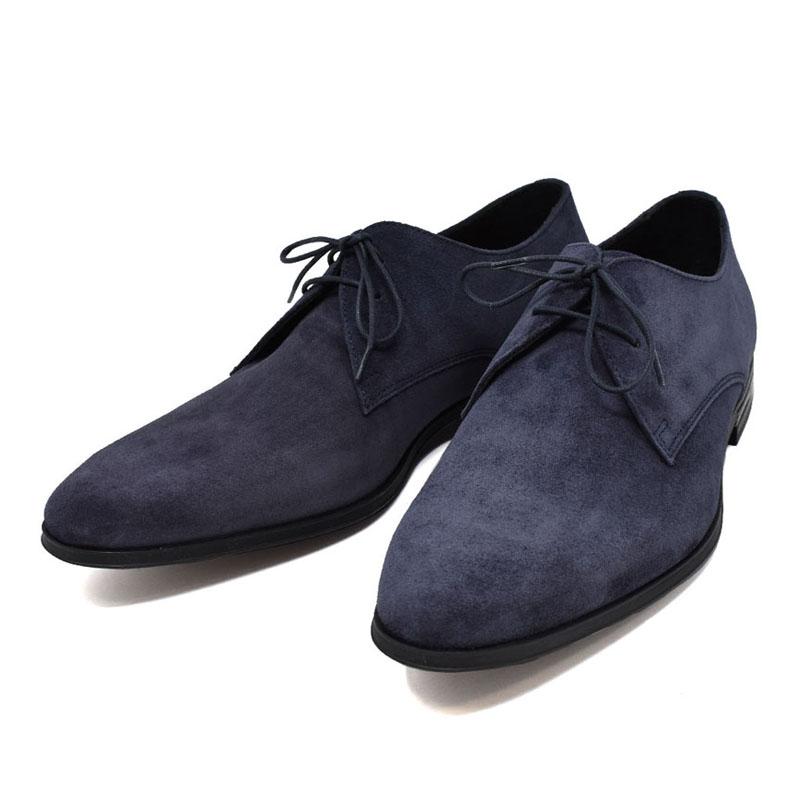 ポールスミス PAUL SMITH スエード ドレスシューズ ビジネスシューズ メンズ CONEY コニー 革靴 ネイビー UKサイズ6 (25cm) M1S CON06 ASSU DARK NAVY