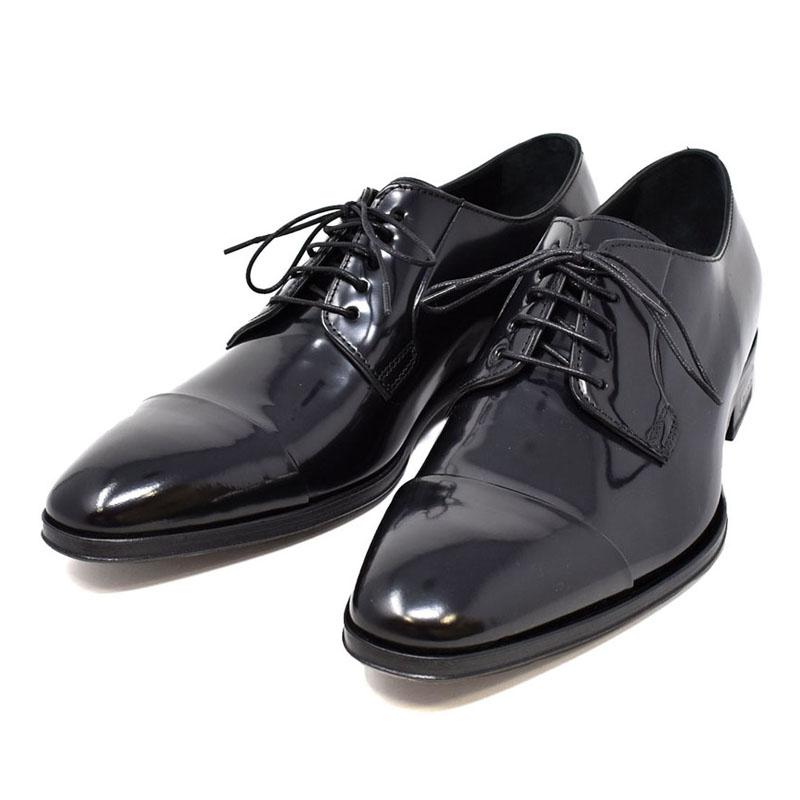 ポールスミス PAUL SMITH ダービーシューズ ドレスシューズ ビジネスシューズ メンズ SPENCER スペンサー 革靴 ブラック UKサイズ7 (26cm) M1S SPE01 ACIT BLACK