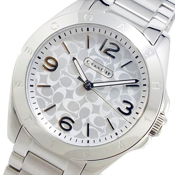 コーチ COACH クオーツ レディース 腕時計 14501778 シルバー