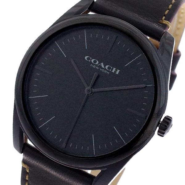 コーチ COACH 腕時計 メンズ 14602400 モダンラグジュアリー クオーツ ブラック