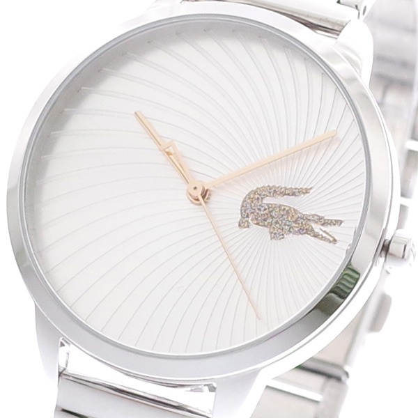 ラコステ LACOSTE 腕時計 レディース 2001059 クオーツ シルバー