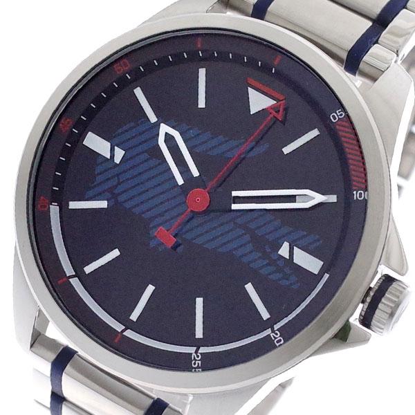 ラコステ LACOSTE 腕時計 メンズ 2010944 クオーツ ネイビー シルバー