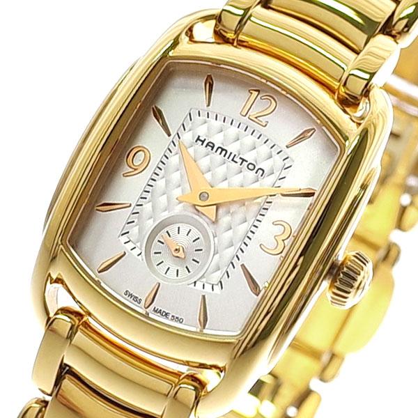ハミルトン HAMILTON 腕時計 レディース H12341155 クオーツ ホワイト ゴールド