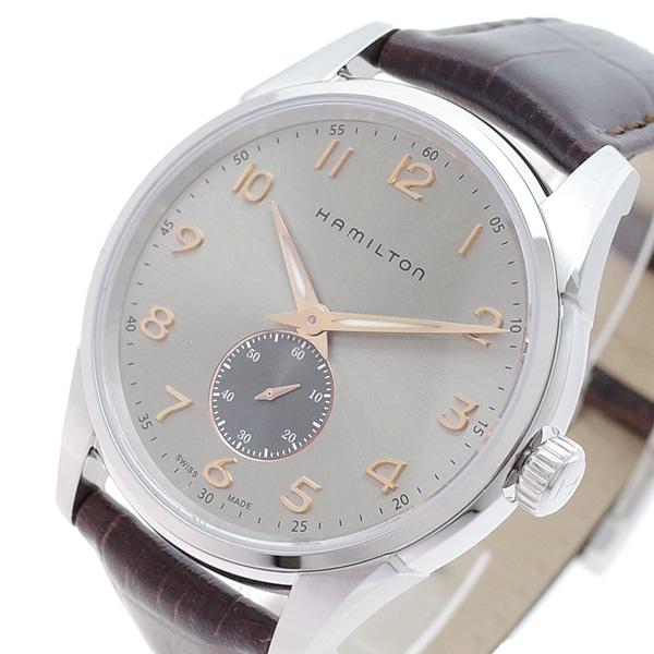 ハミルトン HAMILTON 腕時計 メンズ H38411580 ジャズマスター シンライン クオーツ シャンパンゴールド ブラウン