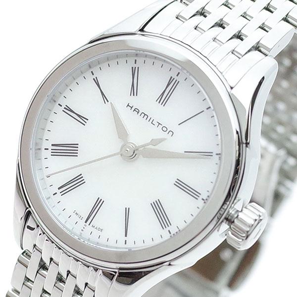 ハミルトン HAMILTON 腕時計 レディース H39251194 バリアント クオーツ ホワイト シルバー