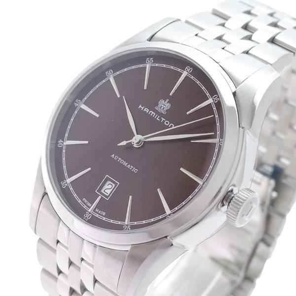ハミルトン HAMILTON 腕時計 メンズ H42415101 アメリカンクラシック スピリット オブ リバティ 自動巻き ブラウン シルバー