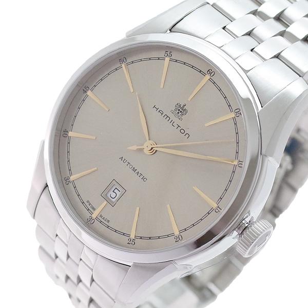 ハミルトン HAMILTON 腕時計 メンズ H42415102 アメリカンクラシック スピリット オブ リバティ 自動巻き シャンパンゴールド シルバー