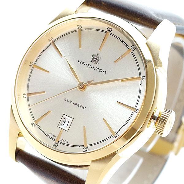 ハミルトン HAMILTON 腕時計 メンズ H42445551 スピリット オブ リバティ 自動巻き シルバー ブラウン