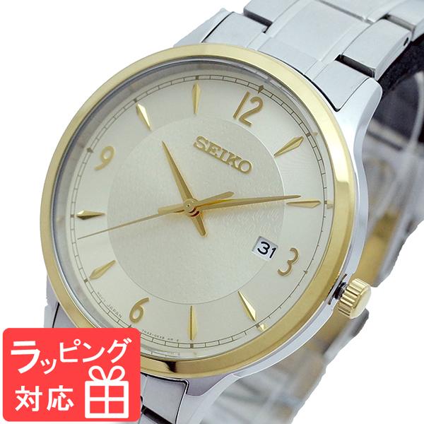 【3年保証】 セイコー SEIKO 腕時計 メンズ SGEH92P1 クオーツ ゴールド シルバー