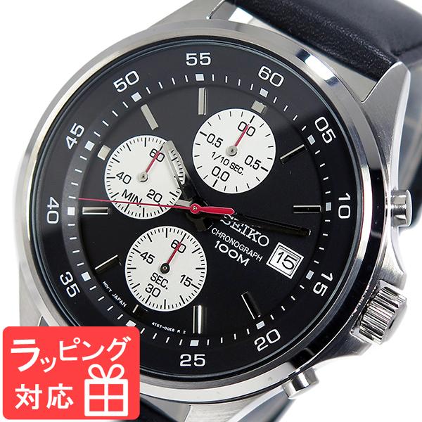 独特な店 セイコー SEIKO ブラック クオーツ メンズ クロノ 腕時計 腕時計 SKS485P1 SEIKO ブラック, モトブチョウ:e74574d2 --- rishitms.com