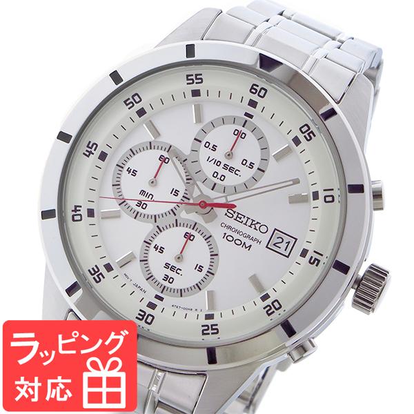 最新情報 セイコー SEIKO SEIKO クロノ クロノ クオーツ メンズ 腕時計 腕時計 SKS557P1 ホワイト, ムラマツマチ:99cb3d7c --- rishitms.com