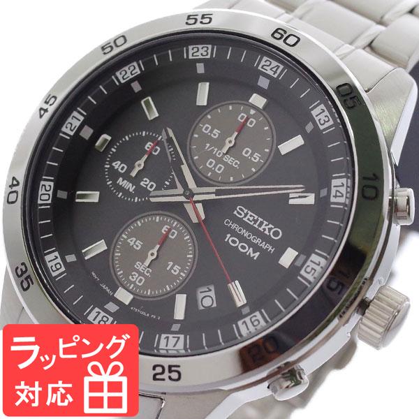 【3年保証】 セイコー SEIKO 腕時計 メンズ SKS641P1 クオーツ ブラック シルバー