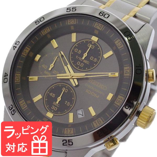 【3年保証】 セイコー SEIKO 腕時計 メンズ SKS645P1 クオーツ ガンメタ シルバー