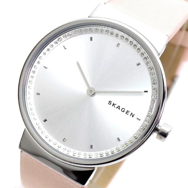 カジュアルからビジネスシーンまで使える時計 財布 バッグ 筆記具を多数ご用意しております プレゼント選びに是非ご覧ください 送料無料(一部地域を除く) 好評受付中 クリスマス 誕生日 記念日 バレンタイン ホワイトデー ピンク SKW2753 SKAGEN クオーツ スカーゲン シルバー 腕時計 ANNELIE レディース