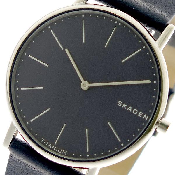 スカーゲン SKAGEN 腕時計 メンズ SKW6481 クオーツ ネイビー ブラック