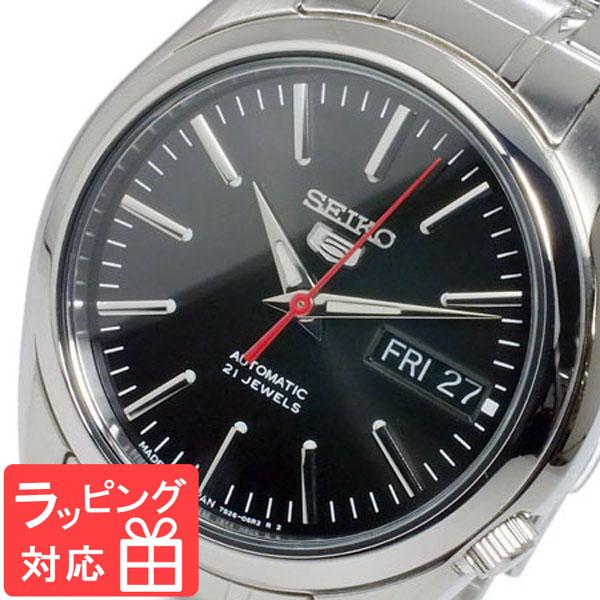 セイコー SEIKO セイコー5 SEIKO 5 自動巻き メンズ 腕時計 SNKL45J1 ブラック