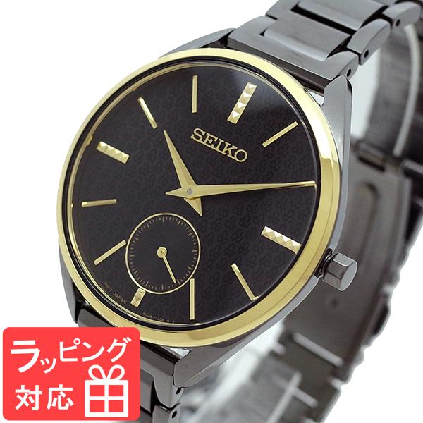 【3年保証】 セイコー SEIKO 腕時計 レディース SRKZ49P1 Quartz Watch 50th Anniversary クオーツ ブラック ガンメタル