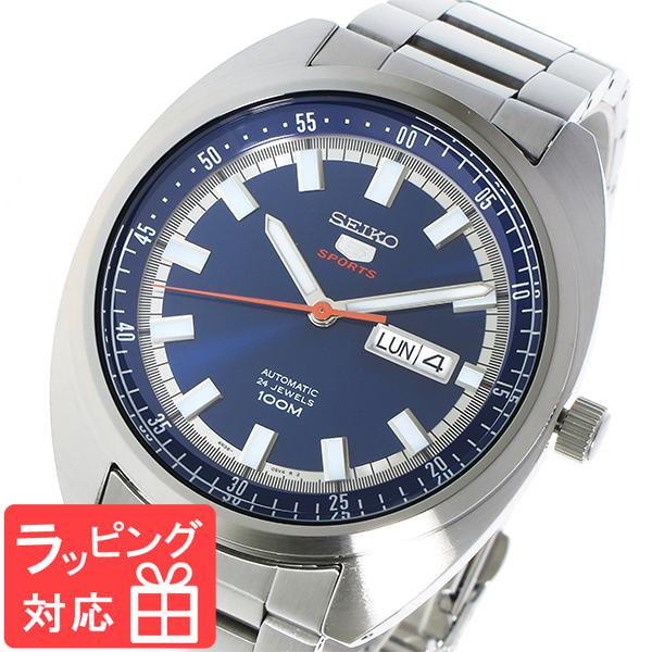 セイコー SEIKO セイコー5 SEIKO 5 自動巻き メンズ 腕時計 SRPB15K1 ブルー