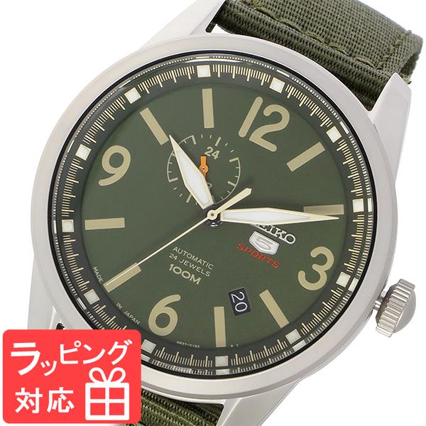 セイコー SEIKO セイコー5 SEIKO 5 スポーツ 自動巻き メンズ 腕時計 SSA299J1 グリーン/カーキ グリーン
