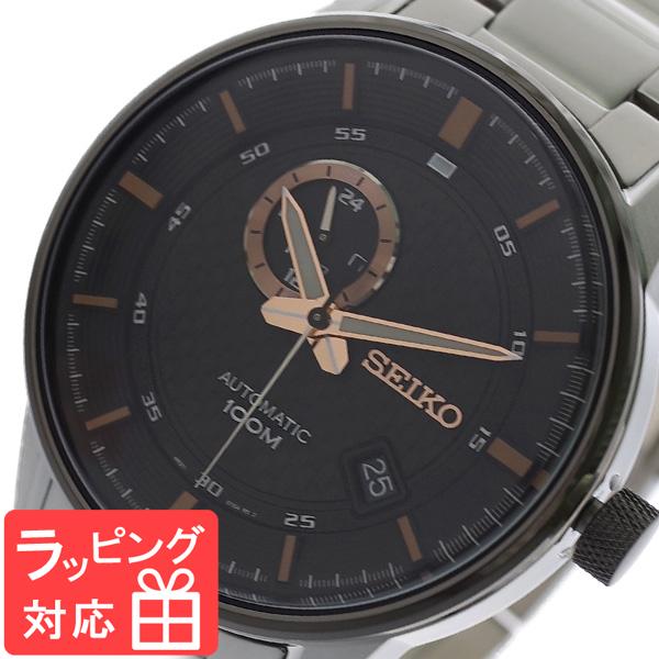 【3年保証】 セイコー SEIKO 腕時計 メンズ SSA389K1 自動巻き ブラック シルバー