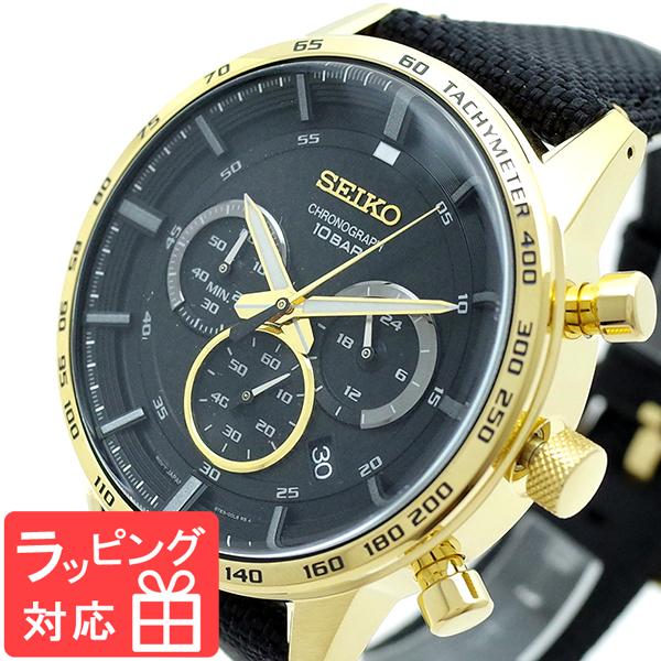 【3年保証】 セイコー SEIKO 腕時計 メンズ SSB364P1 Quartz Watch 50th Anniversary ブラック