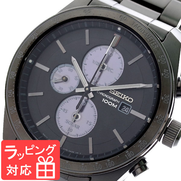 セイコー SEIKO 腕時計 メンズ SSC721P1 ソーラー SOLAR クオーツ グレー ガンメタ