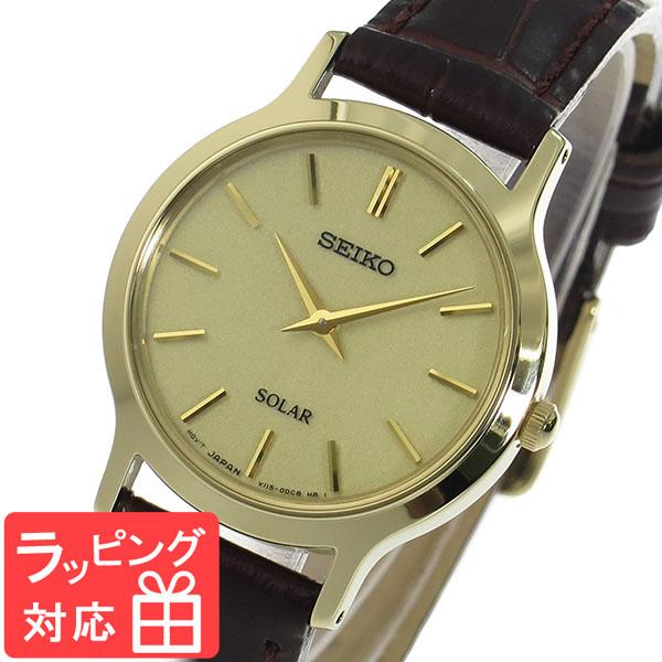 【3年保証】 セイコー SEIKO ソーラークオーツ レディース 腕時計 SUP302P1 ゴールド