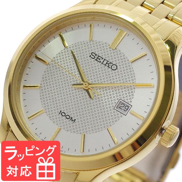 【3年保証】 セイコー SEIKO 腕時計 メンズ SUR296P1 クオーツ シルバー ゴールド