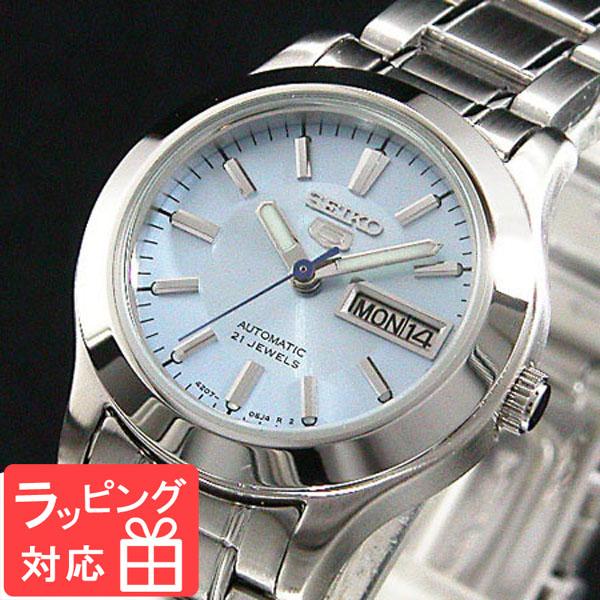 【3年保証】 セイコー SEIKO セイコー5 SEIKO 5 自動巻き レディース 腕時計 SYMD89K ライトブルー
