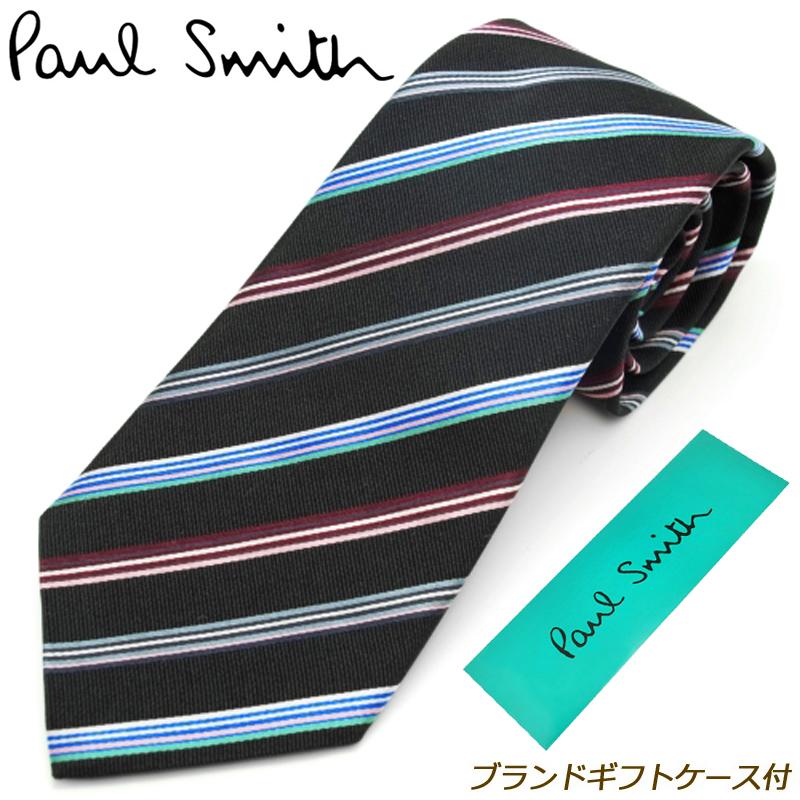 ポールスミス PAUL SMITH ネクタイ ブランドギフトケース付 19年秋冬モデル 19A/W シルク AE04-79 メンズ 男性 プレゼント ギフト ブランド ビジネス おしゃれ