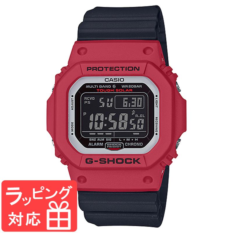 【名入れ対応】 カシオ CASIO G-SHOCK Gショック SPECIAL COLOR メンズ 腕時計 レッド ブラック GW-M5610RB-4DR GW-M5610RB-4 海外モデル
