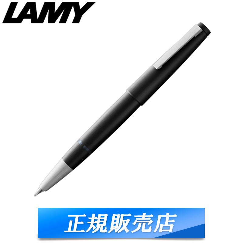 【国内代理店正規商品】 ラミー LAMY 2000 万年筆 筆記具 筆記用具 吸引式 14金 プラチナ ブラック