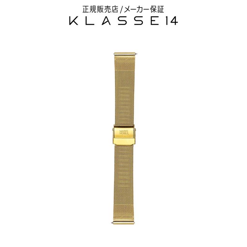 クラスフォーティーン KLASSE14 Volare Gold Mesh Strap 17mm 腕時計 替えベルト ゴールド BDVOGD002W クラス14 クラッセ14 class14