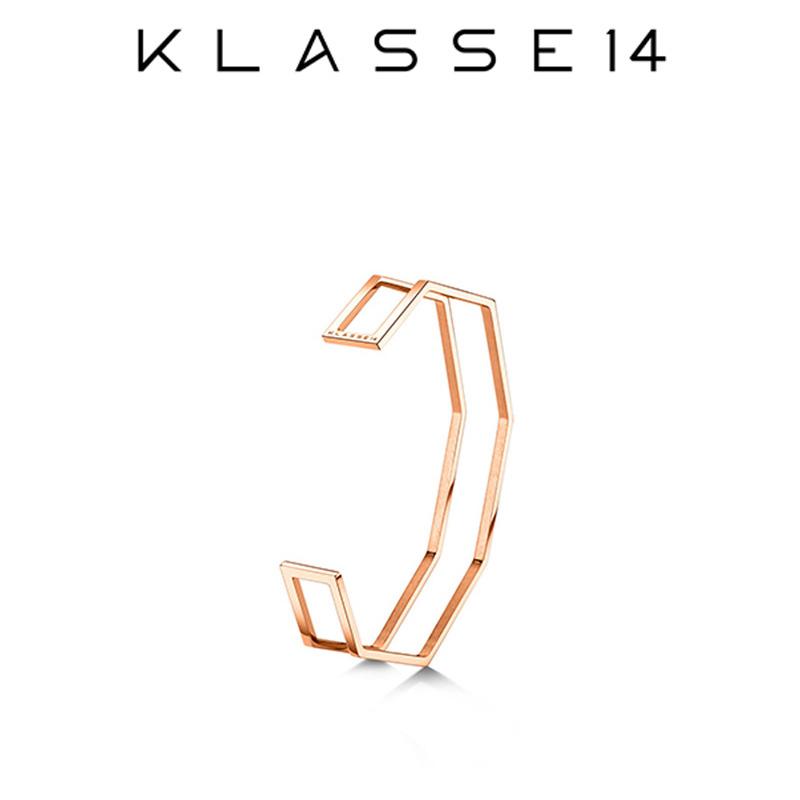 クラスフォーティーン KLASSE14 OKTO Double IL Bracciale Rose Gold S ブレスレット ローズゴールド OB18RG002S レディース アクセサリー プレゼント 女性 クラス14 クラッセ14 class14