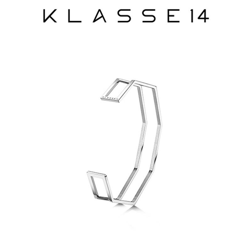クラスフォーティーン KLASSE14 OKTO Double IL Bracciale Silver S ブレスレット シルバー OB18SR002S レディース アクセサリー プレゼント 女性 クラス14 クラッセ14 class14