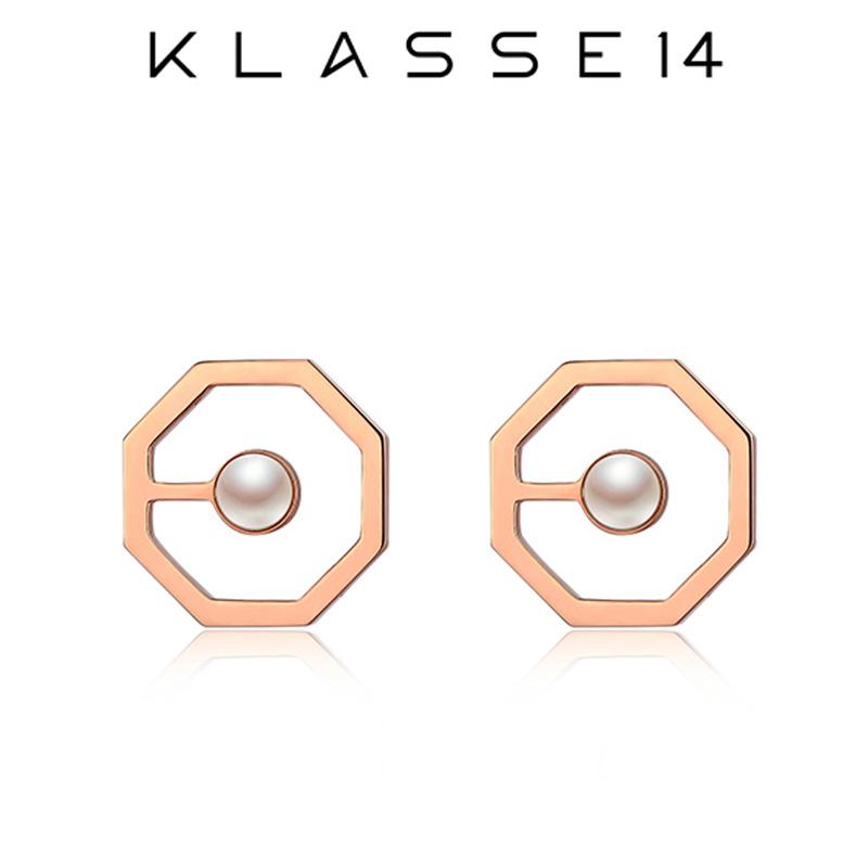 クラスフォーティーン KLASSE14 OKTO Pearl Stud Earrings Rose Gold ピアス ローズゴールド OE18RW002U レディース アクセサリー プレゼント 女性 クラス14 クラッセ14 class14
