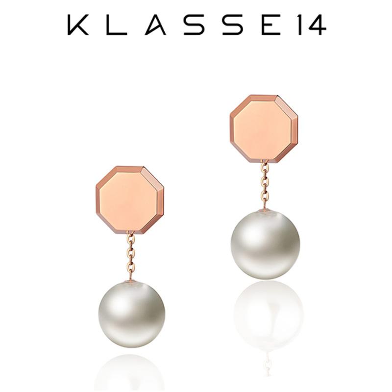 クラスフォーティーン KLASSE14 OKTO Stud Hanging Pearl Earrings Rose Gold ピアス ローズゴールド OE18RW004U レディース アクセサリー プレゼント 女性 クラス14 クラッセ14 class14