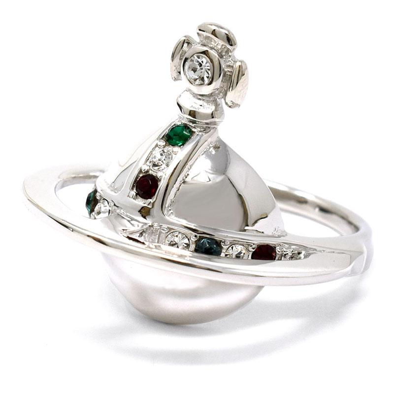 ヴィヴィアン ウエストウッド Vivienne Westwood リング 指輪 レディース シルバー アクセサリー 64040037-W004-IM #L/約16号 ブランド プレゼント ビビアン