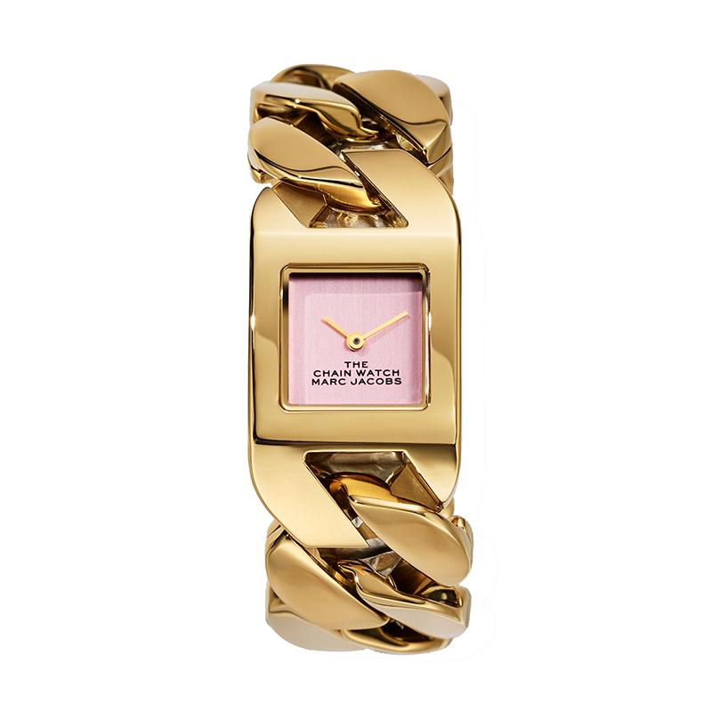 マーク ジェイコブス THE MARC JACOBS The Chain Watch ザ チェーン ウォッチ レディース 腕時計 22mm ピンク ゴールド MJ0120179310 M8000735-713