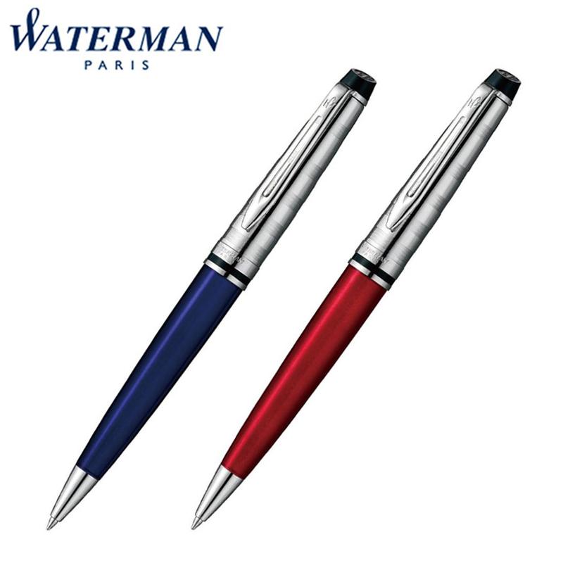 【国内代理店正規商品】ウォーターマン Waterman EXPERT エキスパート デラックス ボールペン ダークブルーCT ダークレッドCT