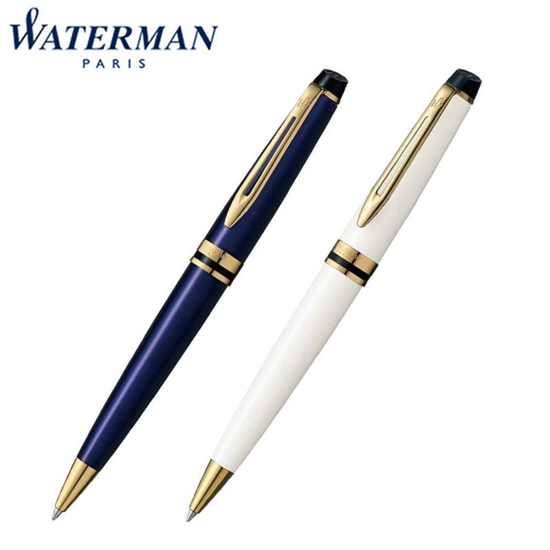 【国内代理店正規商品】ウォーターマン Waterman EXPERT エキスパート エッセンシャル ボールペン プルシアンブルーGT アイボリーGT